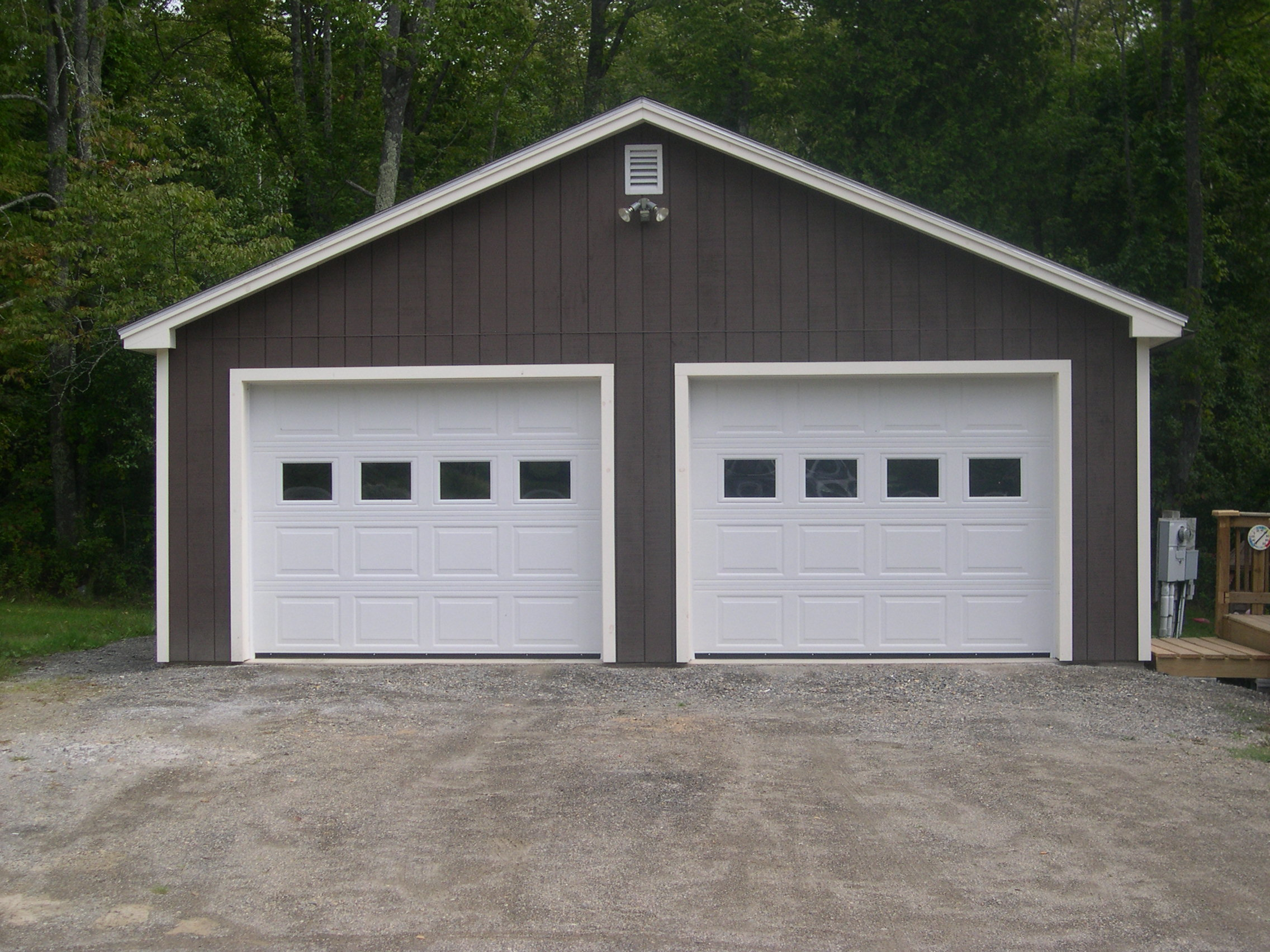 Custom garages homes for 30 by 30 garage cost